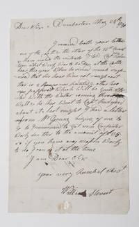 [Scotland]. Letter Signed, to John Adam, Esq. concerning repairs to Dumbarton Castle by  Scotland)  William (of Dumbarton - 1790 - from Michael Laird Rare Books LLC (SKU: 3249)