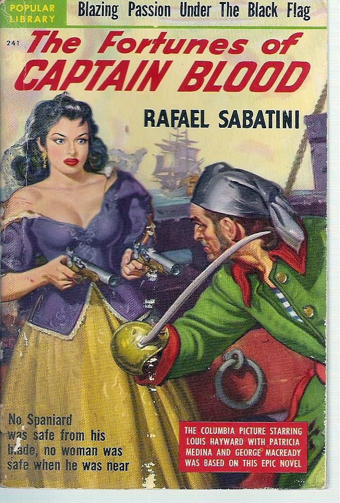 The Fortunes Of Captain Blood By Sabatini Rafael 1950