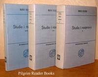Studia i Rozprawy: Tom I, Tom II, Tom III