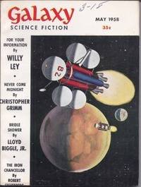 """GALAXY Science Fiction: May 1958 (""""Or All the Seas With Oysters"""")"""