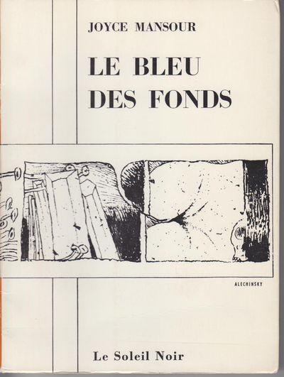 Paris: Le Soleil Noir. 1968. First Edition; First Printing. Softcover. Wraps, No. 305 of 1900 press-...