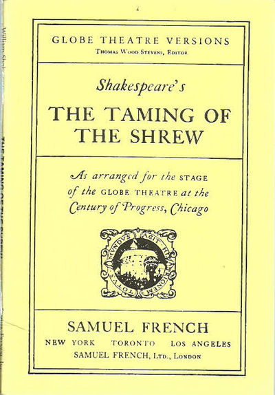 a review of the themes in taming of the shrew by william shakespeare This resource helps students process key themes in  a text to film of taming of the shrew by william shakespeare  the shrew by william shakespeare - text to.