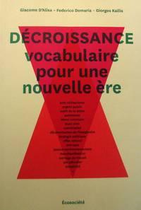 image of Décroissance : vocabulaire pour une nouvelle ère