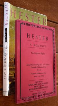 HESTER A Romance [Uncorrected Proof]