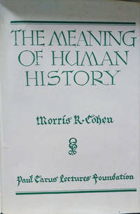 image of The Meaning of Human History