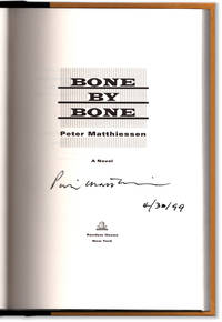 Bone by Bone. Signed and dated at publication.