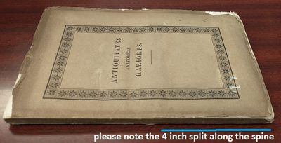 Vindobonae: Congregationis Mechitaristicae, 1835. Dissertation. Octavo; good/wraps; brown spine with...