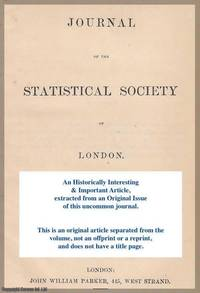 On Methods of Ascertaining Variations in the Rate of Births, Deaths, and Marriages. A rare...