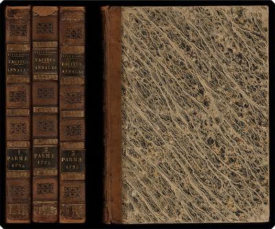 Parmae: In Aedibus Palatinus, Typis Bodonianis, 1795. Imp. 4to (32.38 cm, 12.75