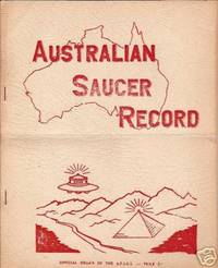 Australian Saucer Record [Australian Flying Saucer Research Society] - 3rd Quarter1959. Alien Script & Glyphs ?; Jamestown (AU) UFO Sighting. From Max Miller's Collection