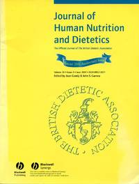 image of Journal of Human Nutrition and Dietetics - Vol 20 Issue 3 June 2007 : Special 20th Anniversary Issue