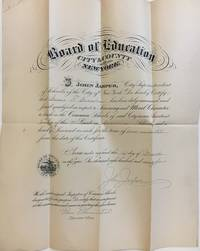 1894 Teaching License