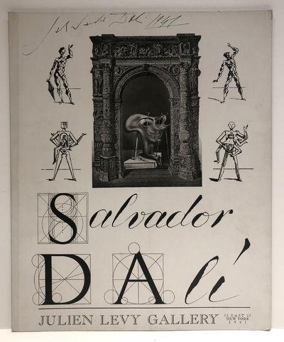 "Autographed ""Salvador Dali 1941""..."