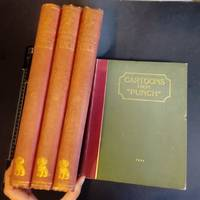 Cartoon from Punch set 4 volumes large Books 1906 illustrated Set