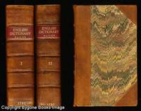 An Universal Etymological English Dictionary 2 Volumes!! 1721 and 1737 originals!