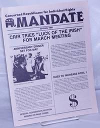image of C.R.I.R. Mandate: Spring 1986: CRIR Tries