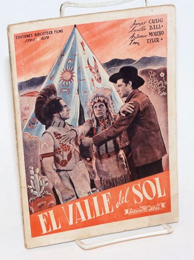 Barcelona: Editorial 'Alas', 1942. Paperback. 70p., section of production stills, printed double-col...