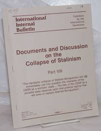 image of Documents and Discussion on the Collapse of Stalinism Party 8 [No. 27]