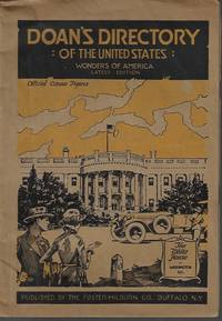 image of DOAN'S DIRECTORY of Teh United States: Wonders of America; Latest Edition (1920 -1921)