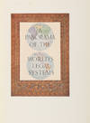 View Image 3 of 8 for A Panorama of the World's Legal Systems. Signed and Inscribed copy Inventory #71578