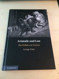 image of Aristotle and Law: The Politics of Nomos