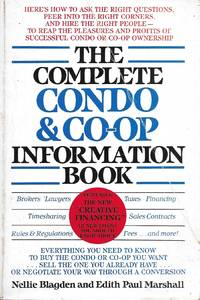 The Complete Condo and Co-Op Information Book by  Nellie and Edith Paul Marshall Blagden - Paperback - Fourth Printing - 1983 - from Charing Cross Road Booksellers (SKU: 961001414)