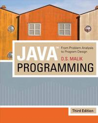image of Java Programming: From Problem Analysis to Program