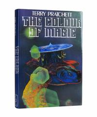 image of The Colour of Magic - SIGNED and INSCRIBED by Pratchett to the typesetter at Colin Smythe