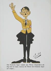 15 Anti-Nazi caricatures