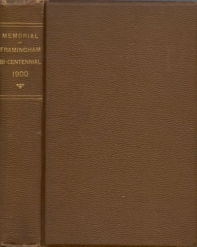 South Framingham, Mass: Printery of Geo. L. Clapp, 1900. First Edition. Hardcover. Very good. Small ...