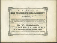 image of American Commercial Advertising - W.W. Wallace, Mill furnishing and marble works