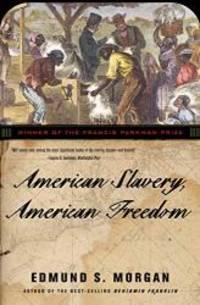 image of American Slavery, American Freedom