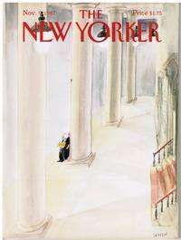 image of NEW YORKER: COVER MUSICIAN on BREAK by JEAN-JACQUES SEMPE