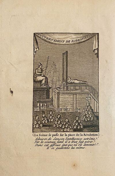 (FRENCH REVOLUTION) TABLEAU des Prisons de Paris, sous le regne de Robespierre . Paris: chez l'Edito...