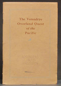 image of The Verendrye Expeditions in Quest of the Pacific: from The Quart of the Oregon Historical Society, Volume XXVI June, 1925 Number 2