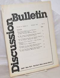 image of Discussion Bulletin, for New York - Nothern Jersey District
