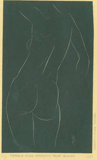 Female Nude, Standing, from behind