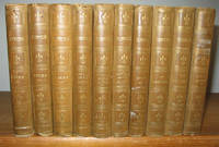 The Works of Alfred Tennyson Poet Laureate 10 volumes