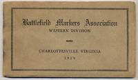 Battlefield Markers Association, Western Division, Charlottesville, Virginia, 1929