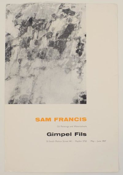 London: Gimpel Fils, 1957. First edition. Exhibition brochure for a show that ran May through June 1...