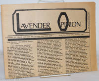 image of Lavender Opinion: vol. 1, #9, December 1974