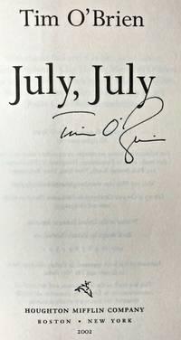 image of JULY, JULY (SIGNED)
