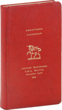 Anglo-Saxon Leechcraft: An Historical Sketch of Early English Medicine