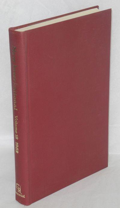 New York: Greenwood Reprint Corporation, 1968. Hardcover. 331p., original publishers cloth, very goo...