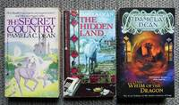 image of SECRET COUNTRY TRILOGY.  1. THE SECRET COUNTRY.  2. THE HIDDEN LAND.  3. THE WHIM OF THE DRAGON.  3 VOLUME SET.