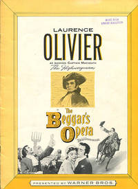 Laurence Olivier as Dashing Captain MacHeath The Highwayman in The Beggar's Opera color by Technicolor presented by Warner Bros. (promotional publication)