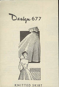 Design 677 - Knitted Skirt
