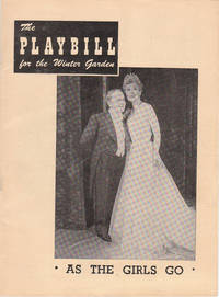 image of Vintage 1949 Playbill from the Winter Garden Theater for