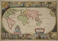 [World Map, Bible]: A Map of all the Earth and how after the Flood it was divided among the Sons of Noah