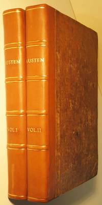 The Novels of Jane Austen; containing Pride and Prejudice, Mansfield Park, Persuasion, Sense and Sensibility,… by  Jane AUSTEN  - First edition  - 1838  - from Yesterday's Gallery, ABAA (SKU: 37718)